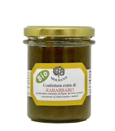 Fattoria Moldano confettura extra bio rabarbaro - organic extra rhubarb jam - Gustorotondo Italian food boutique - I migliori cibi online - Best Italian foods online - spesa online