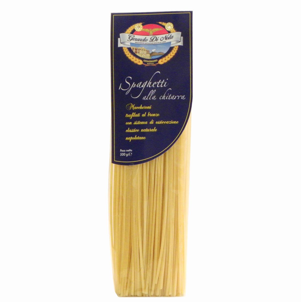 Gerado di Nola – spaghetti alla chitarra – Gustorotondo Italian food boutique – I migliori cibi online – Best Italian foods online – spesa online