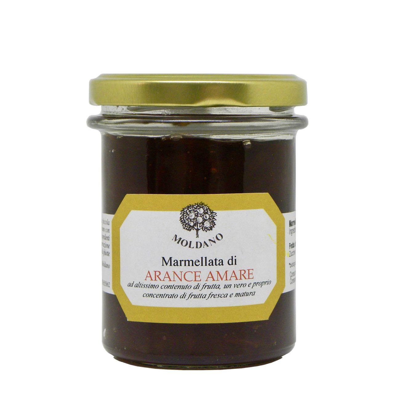 Fattoria Moldano marmellata arance amare – bitter orange marmelade –  Gustorotondo Italian food boutique – I migliori cibi online – Best Italian foods online – spesa online