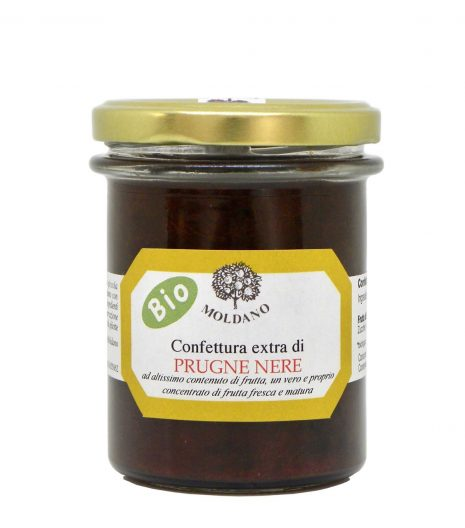Fattoria Moldano confettura extra bio prugne nere - organic extra black plums jam - Gustorotondo Italian food boutique - I migliori cibi online - Best Italian foods online - spesa online