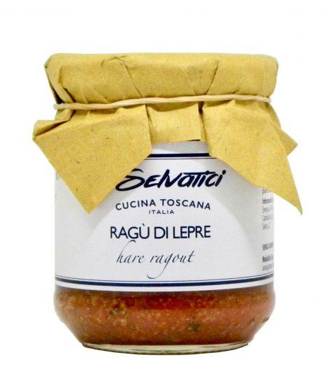 Ragù di lepre - hare ragù - I Selvatici - Gustorotondo Italian food boutique - I migliori cibi online - Best Italian foods online - spesa online
