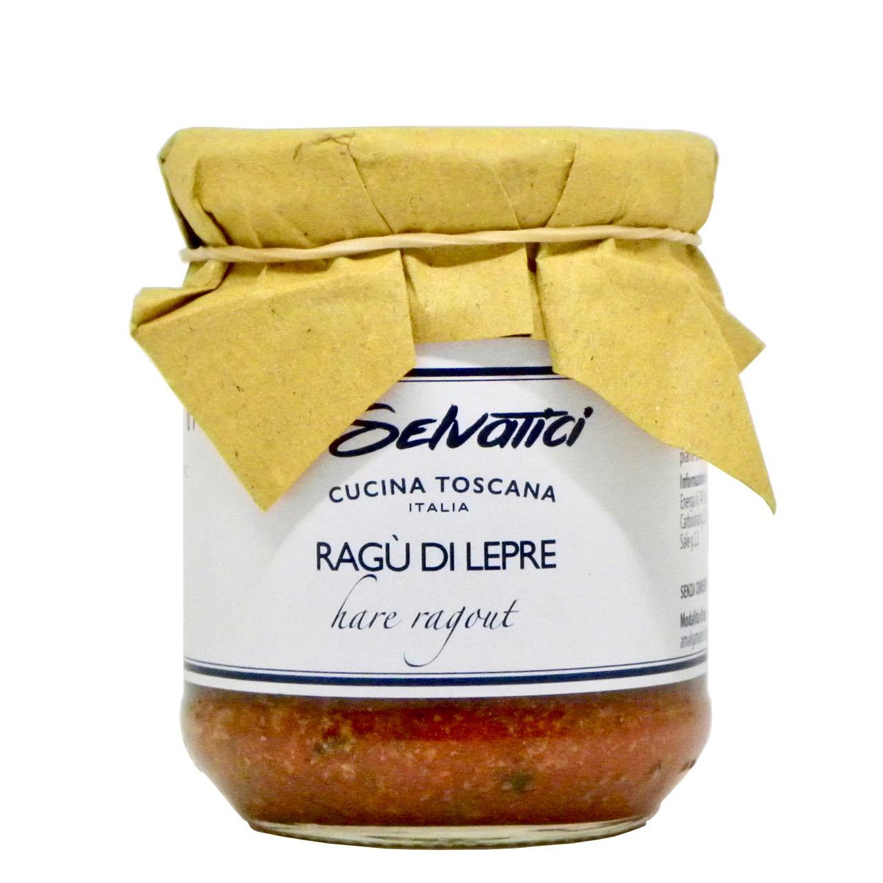 Ragù di lepre – hare ragù – I Selvatici – Gustorotondo Italian food boutique – I migliori cibi online – Best Italian foods online – spesa online