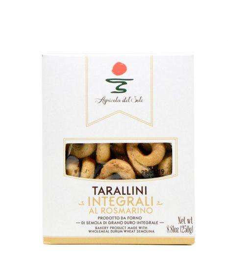Tarallini integrali al rosmarino Agricola del Sole - Gustorotondo Italian food boutique - I migliori cibi online - Best Italian foods online - spesa online