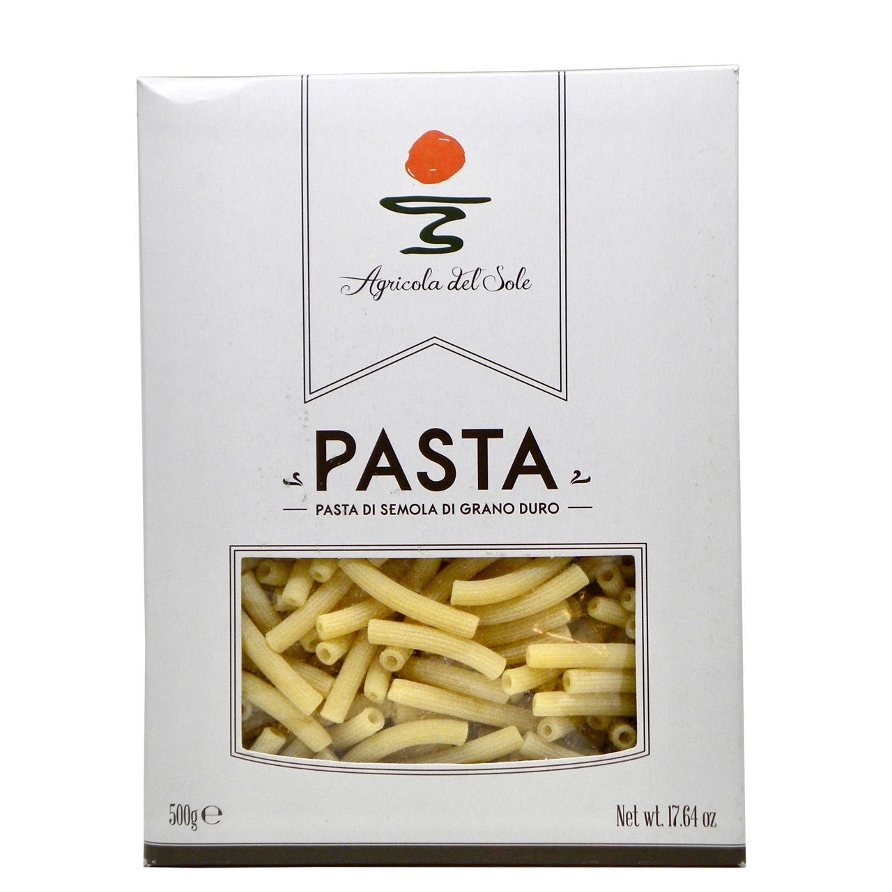 maccheroncini agricola del sole pasta artigianale – agricola del sole artisan pasta maccheroncini – Gustorotondo Italian food boutique – I migliori cibi online – Best Italian foods online – spesa online