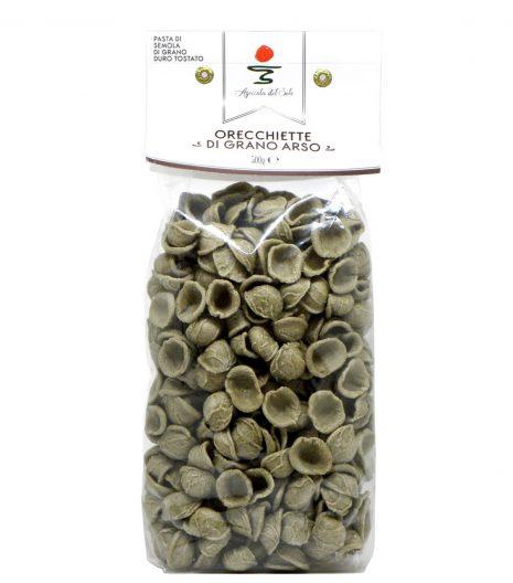 Orecchiette di grano arso Agricola del Sole - burned wheat orecchiette pasta - Gustorotondo Italian food boutique - I migliori cibi online - Best Italian foods online - spesa online