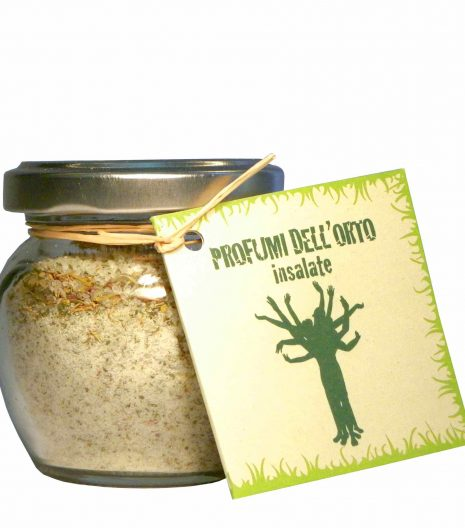 Sale e aromi per insalate - salt and aromas for salads - Gustorotondo Italian food boutique - I migliori cibi online - Best Italian foods online - spesa online