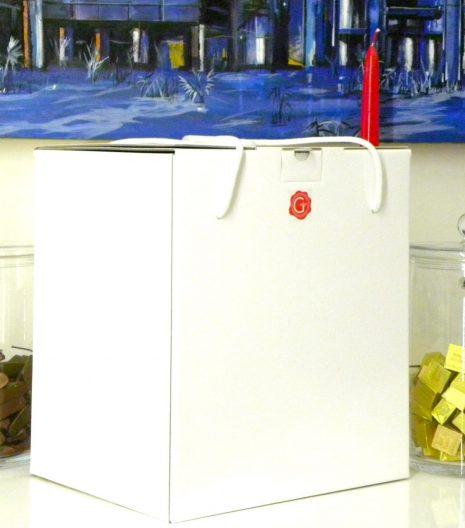Confezione regalo Gustorotondo - Gustorotondo Gift Box - Gustorotondo Italian food boutique - I migliori cibi online - Best Italian foods online - spesa online