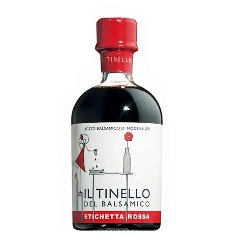 Aceto Balsamico IGP di Modena Il Tinello etichetta rossa - IGP Balsamic vinegar of Modena Il Tinello red label - Gustorotondo Italian food boutique - I migliori cibi online - Best Italian foods online - spesa online