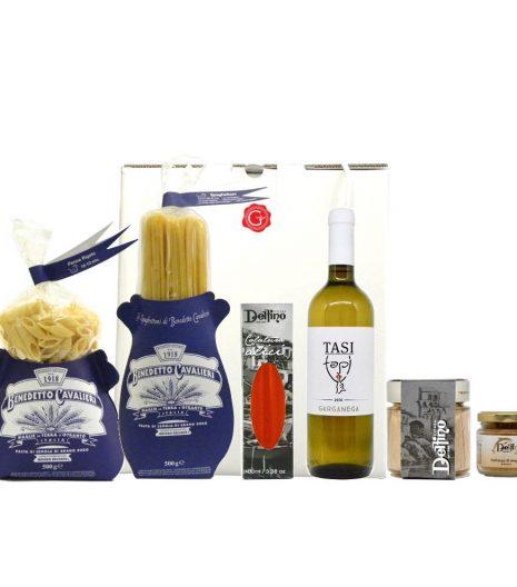 Confezione regalo delizie del Mediterraneo - Mediterranean delis gift box - Gustorotondo Italian food boutique - I migliori cibi online - Best Italian foods online - spesa online