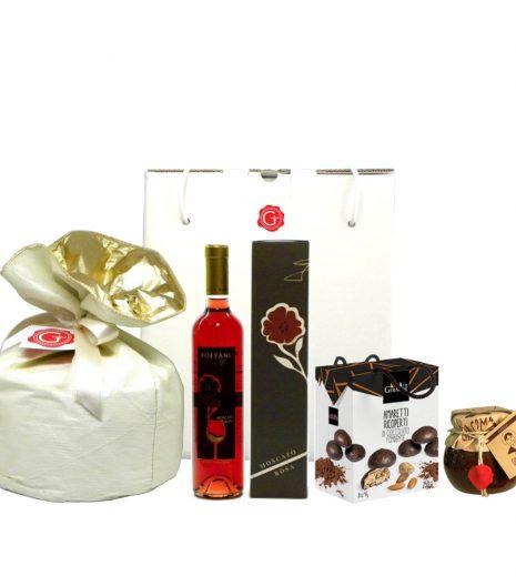 Confezione regalo dolce Natale e cioccolato - Sweet Christmas and chocolate Gift Box - Gustorotondo Italian food boutique - I migliori cibi online - Best Italian foods online - spesa online