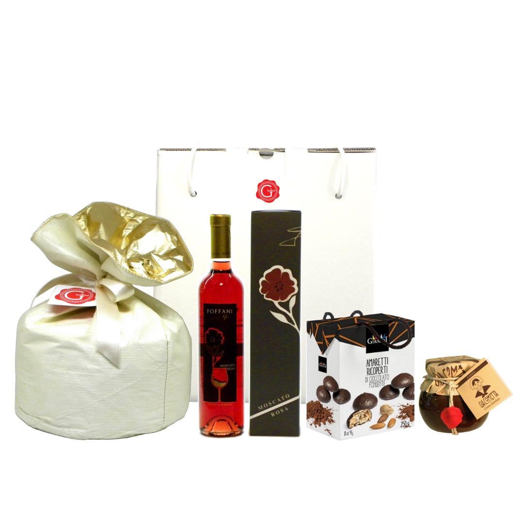 Confezione regalo dolce Natale e cioccolato – Sweet Christmas and chocolate Gift Box – Gustorotondo Italian food boutique – I migliori cibi online – Best Italian foods online – spesa online