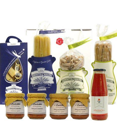 confezione regalo pasta passione - passion for pasta gift box - Gustorotondo Italian food boutique - I migliori cibi online - Best Italian foods online - spesa online
