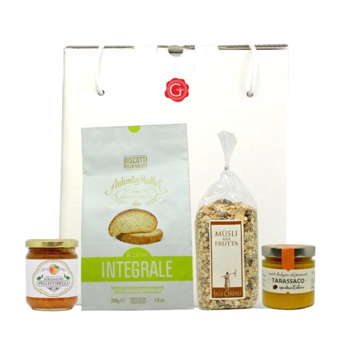 confezione regalo prima colazione - breakfast gift box - Confezione regalo sapori di mare - sea tastes gift box - Gustorotondo Italian food boutique - I migliori cibi online - Best Italian foods online - spesa online