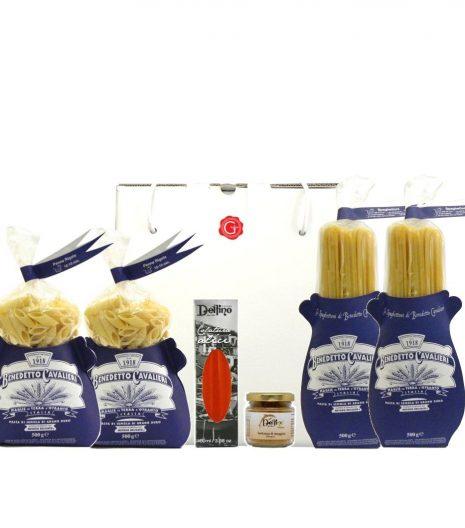 Confezione regalo sapori di mare - flavors of the sea gift box - Gustorotondo Italian food boutique - I migliori cibi online - Best Italian foods online - spesa online
