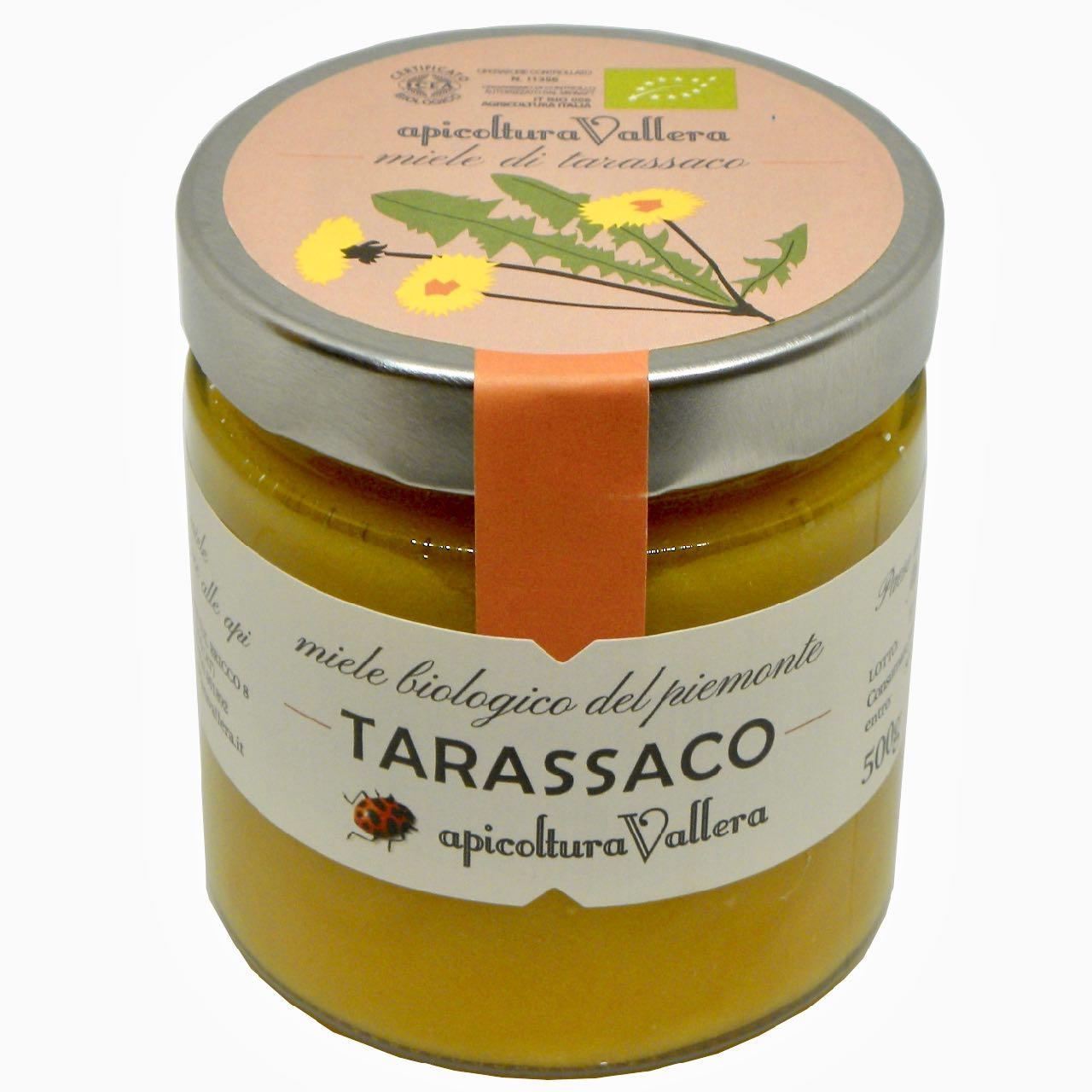 Miele di Tarassaco –  dandelion honey – Apicoltura Vallera – Gustorotondo Italian food boutique – I migliori cibi online – Best Italian foods online – spesa online