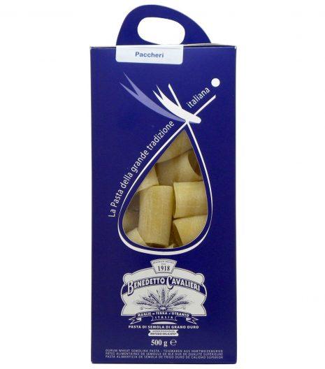 Paccheri Benedetto Cavalieri - Gustorotondo Italian food boutique - I migliori cibi online - Best Italian foods online - spesa online