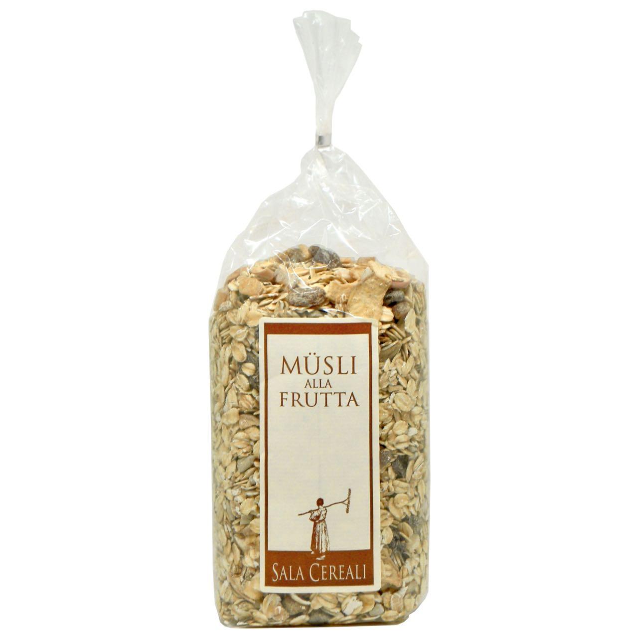Muesli alla frutta – fruit muesli – Sala Cereali – Gustorotondo Italian food boutique – I migliori cibi online – Best Italian foods online – spesa online