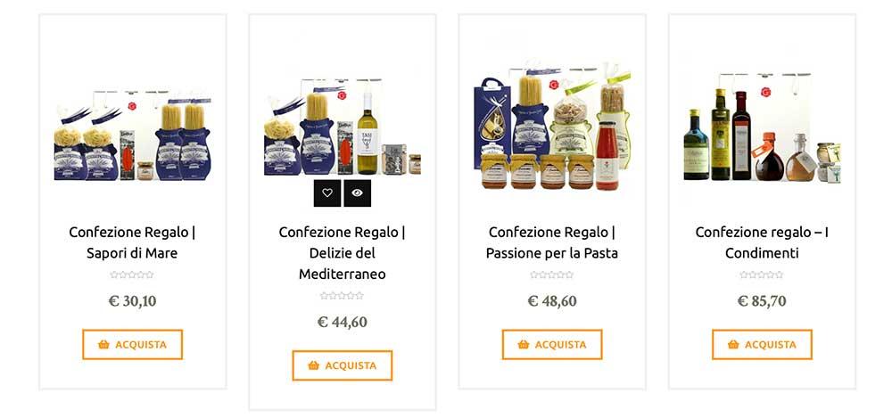 prodotti tipici - Gustorotondo Italian food boutique - I migliori cibi online - Best Italian foods online - spesa online