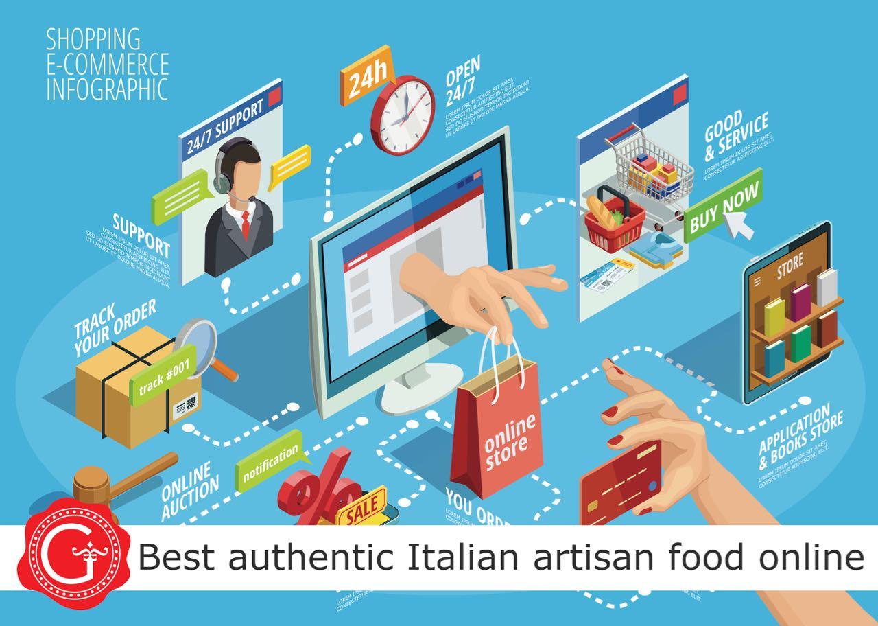 Italian food shop online - Gustorotondo best authentic Italian artisan food online - best traditional Italian food shop - I migliori cibi artigianali online