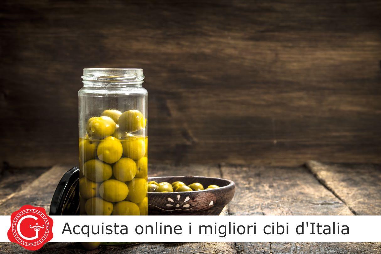 ricetta olive salamoia cucina italiana - olives in brine recipe italian cuisine - Gustorotondo Italian food boutique - I migliori cibi online - Authentic Italian food shop - spesa online