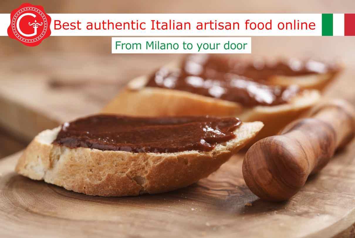 Gianduja chocolate hazelnuts - Gustorotondo - Gustorotondo.it online shop - vendita online dei migliori cibi artigianali - best authentic Italian artisan food online