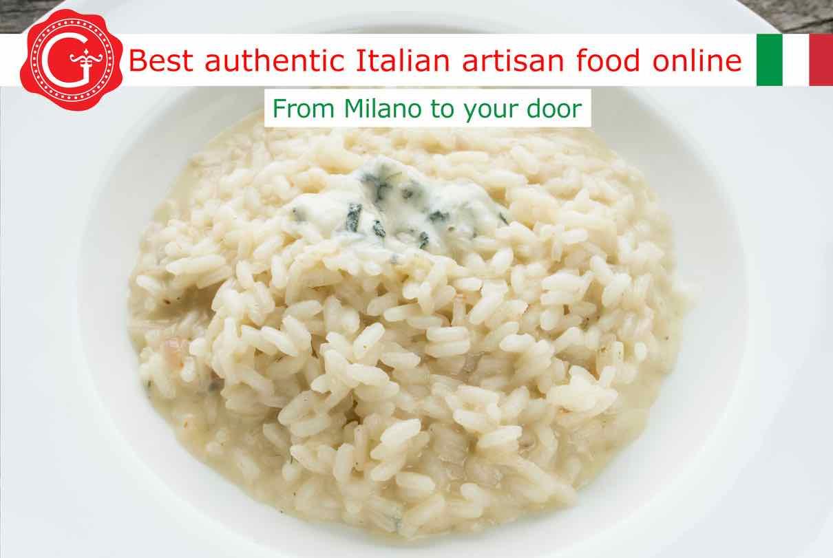 Carnaroli risotto rice - Gustorotondo Italian food shop - vendita online dei migliori cibi artigianali - best authentic Italian artisan food online