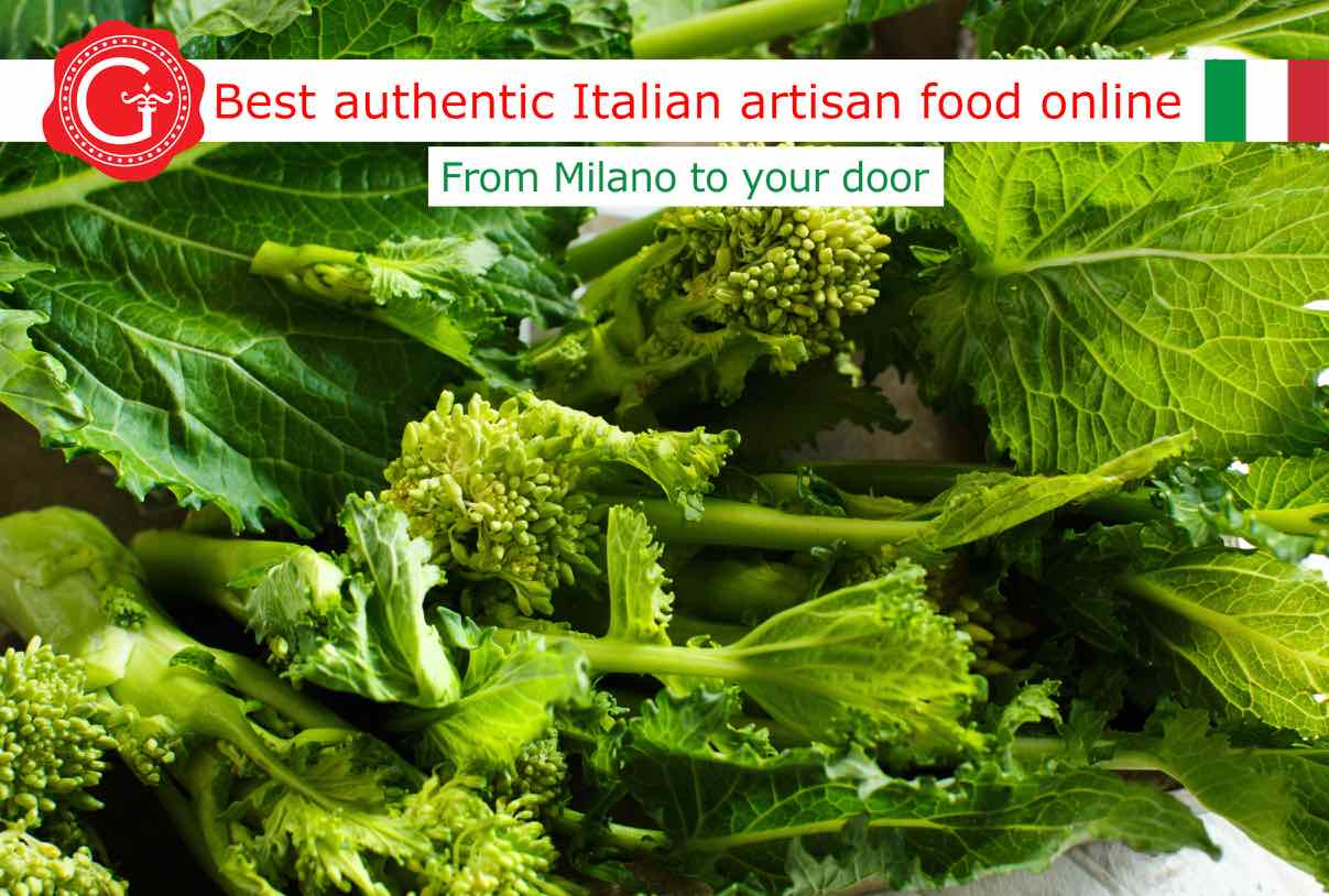 cime di rapa - broccoli rabe - rapini - Gustorotondo Italian food shop - best authentic artisan Italian food online - vendita online dei migliori cibi artigianali