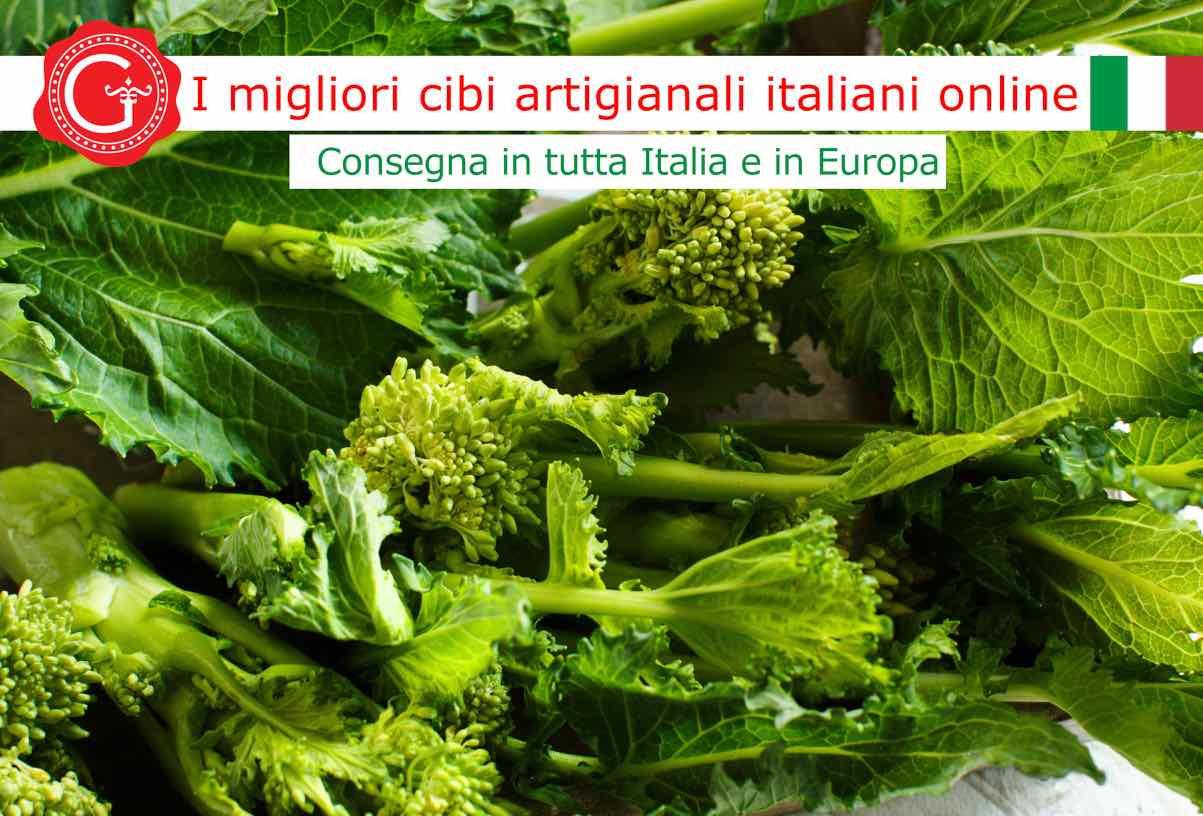cime di rapa - Gustorotondo - Gustorotondo online shop - i migliori cibi online - vendita online dei migliori cibi italiani artigianali - best authentic Italian artisan food online