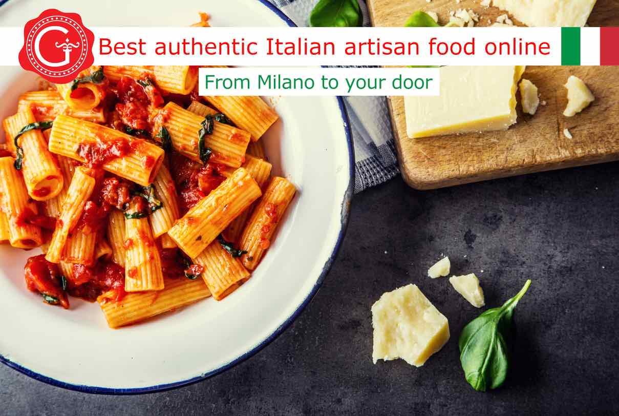 Rigatoni pasta - Gustorotondo Italian food shop - best authentic artisan Italian food online - vendita online dei migliori cibi artigianali