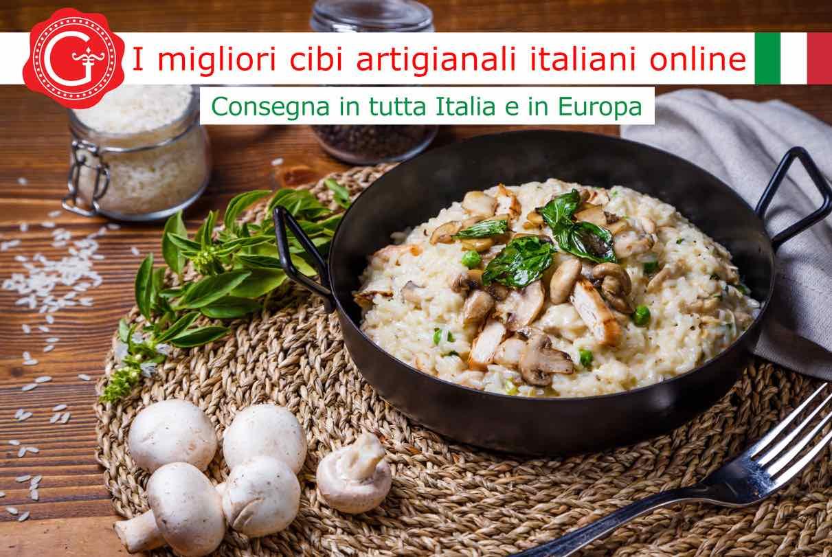 risotto al pollo - Gustorotondo - Gustorotondo online shop - i migliori cibi online - vendita online dei migliori cibi italiani artigianali - best authentic Italian artisan food online