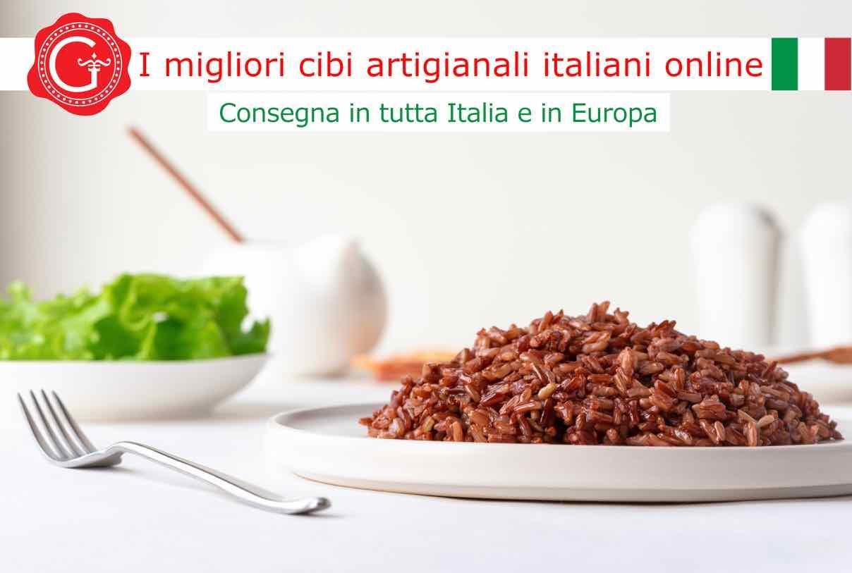 Riso rosso - Gustorotondo - Gustorotondo online shop - i migliori cibi online - vendita online dei migliori cibi italiani artigianali - best authentic Italian artisan food online