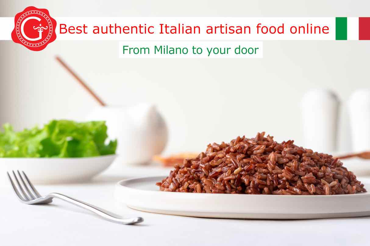 red rice - Gustorotondo Italian food shop - best authentic artisan Italian food online - vendita online dei migliori cibi artigianali