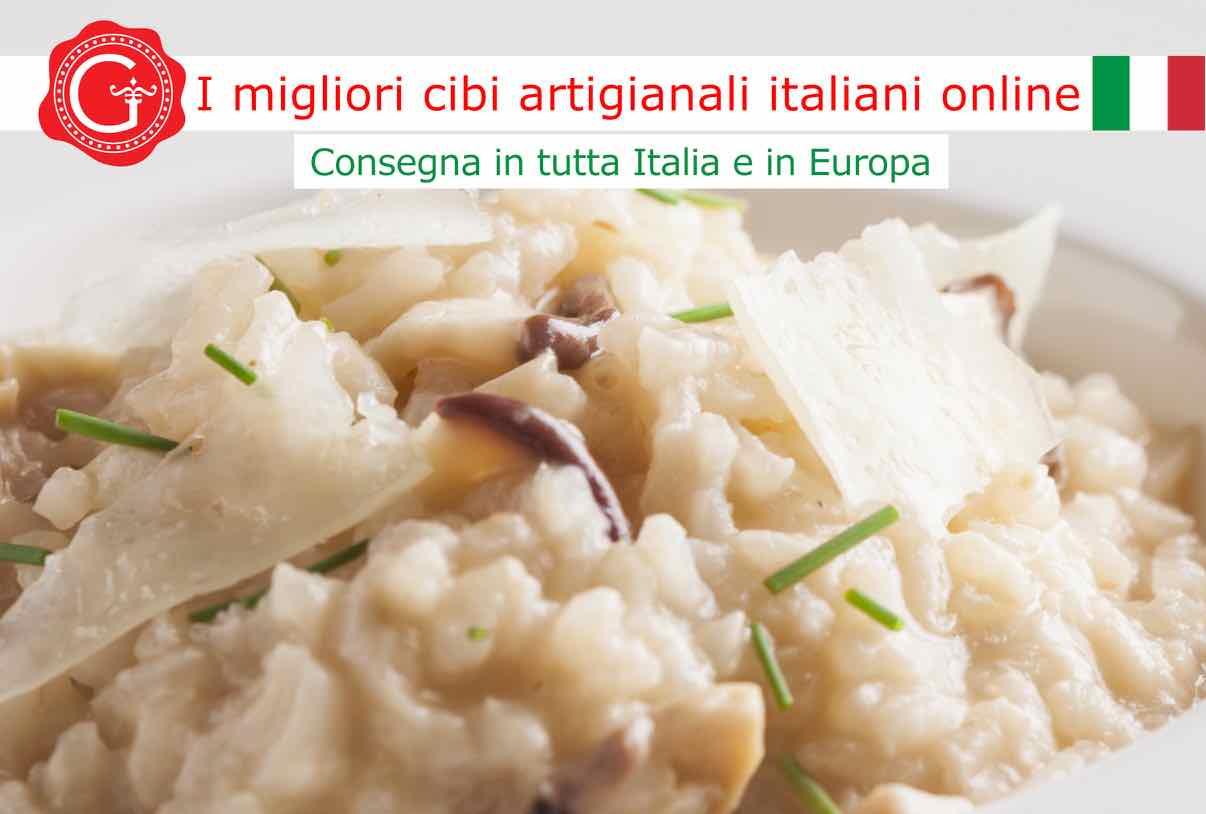 risotto ai funghi porcini freschi - ricetta - Gustorotondo online shop - i migliori cibi online - vendita online dei migliori cibi italiani artigianali - best authentic Italian food online