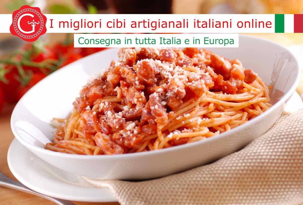 sugo all'amatriciana - Gustorotondo online shop - i migliori cibi online - vendita online dei migliori cibi italiani artigianali - best authentic Italian food online