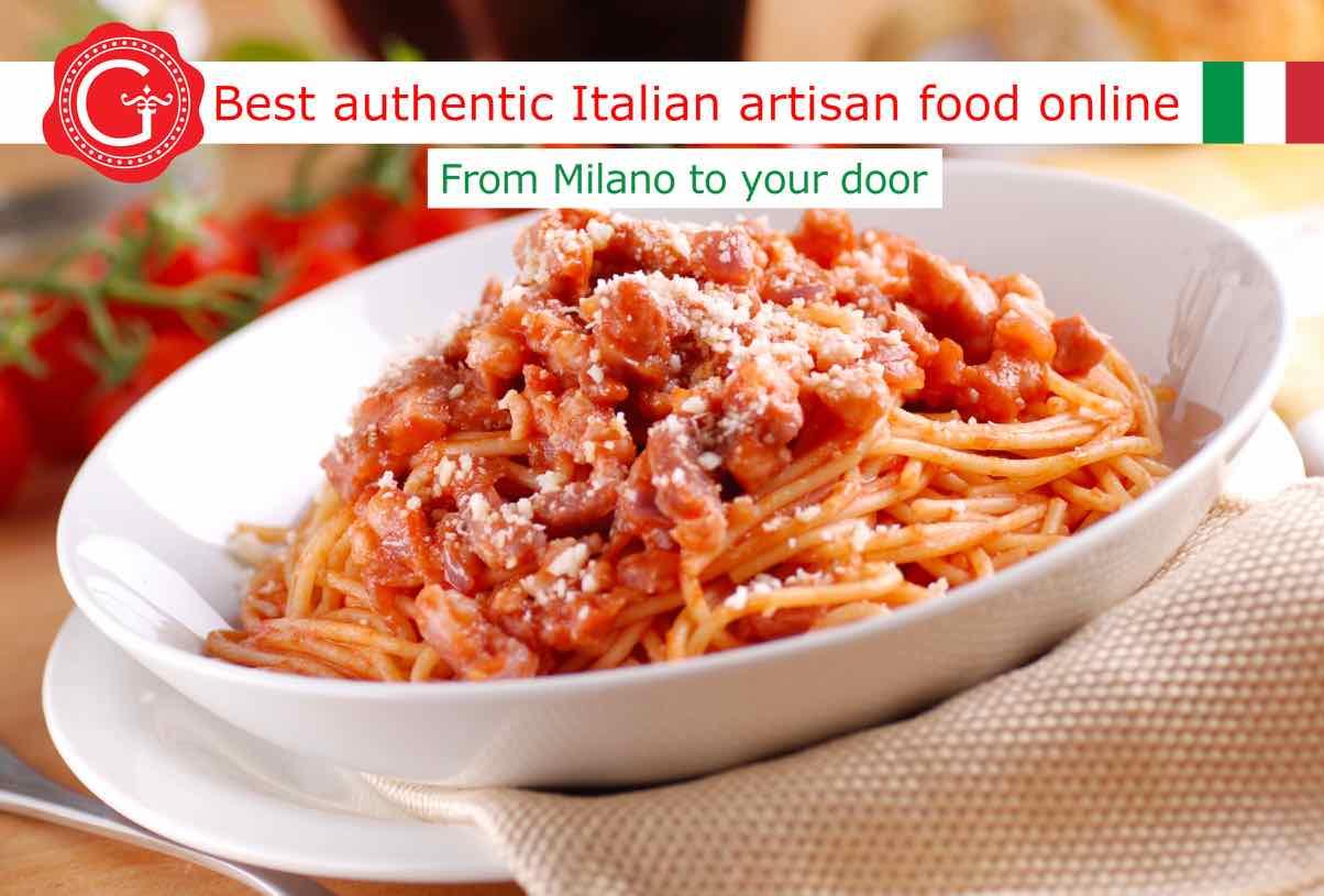 amatriciana sauce - Gustorotondo online shop - i migliori cibi online - vendita online dei migliori cibi italiani artigianali - best authentic Italian artisan food online