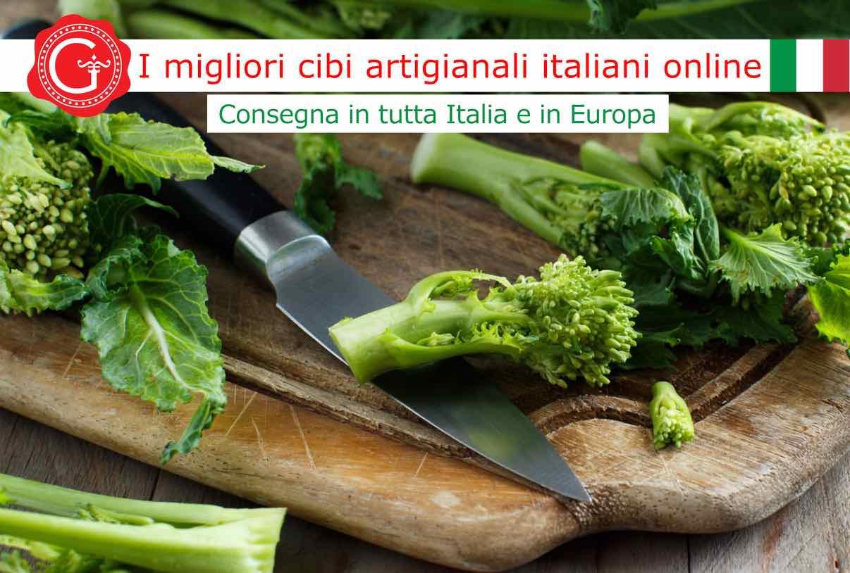 come pulire le cime di rapa - Gustorotondo online shop - i migliori cibi online - vendita online dei migliori cibi italiani artigianali - best authentic Italian food online