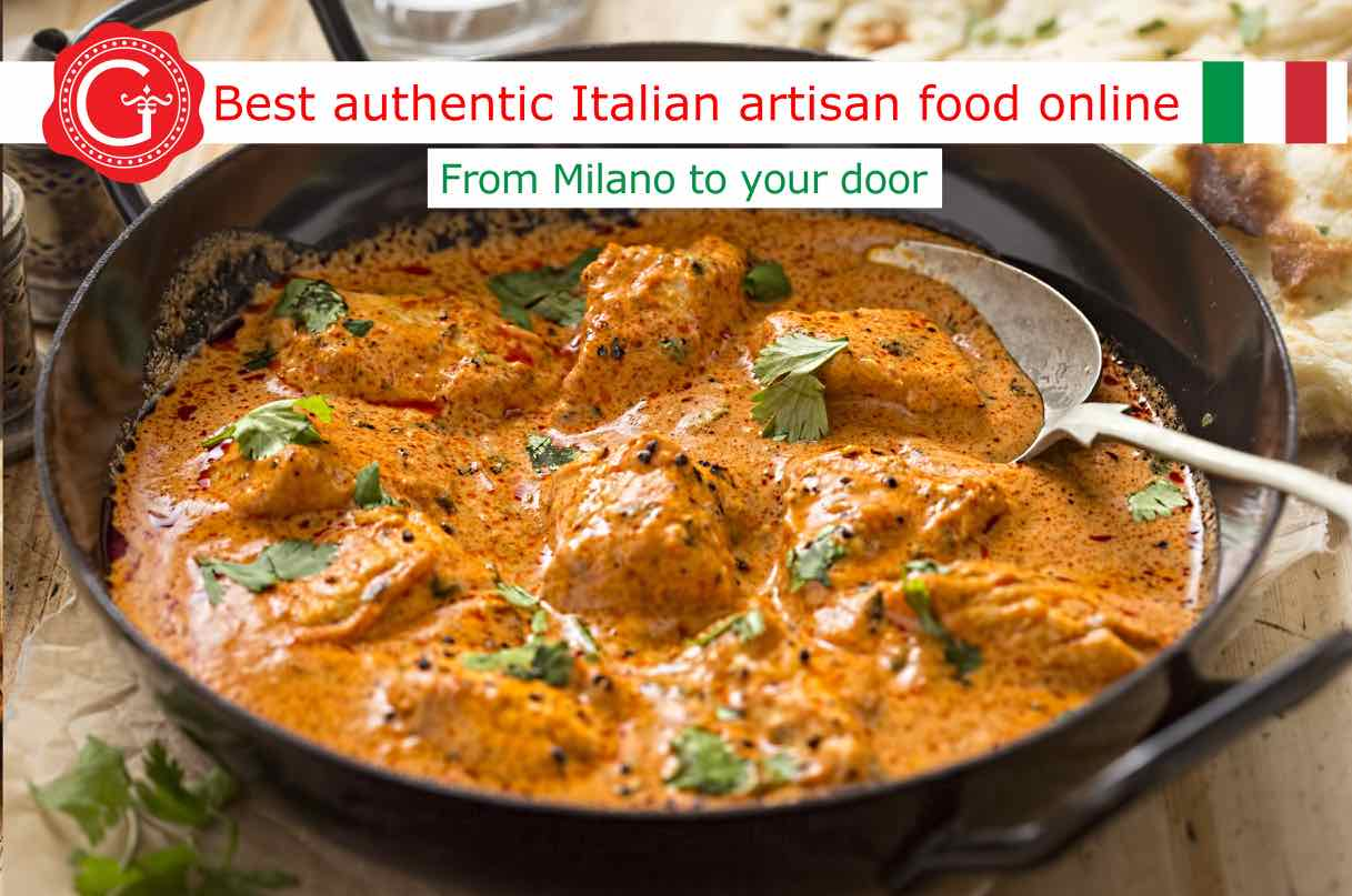 curry chicken recipe - best Italian food - Gustorotondo online food shop - authentic Italian artisan food online