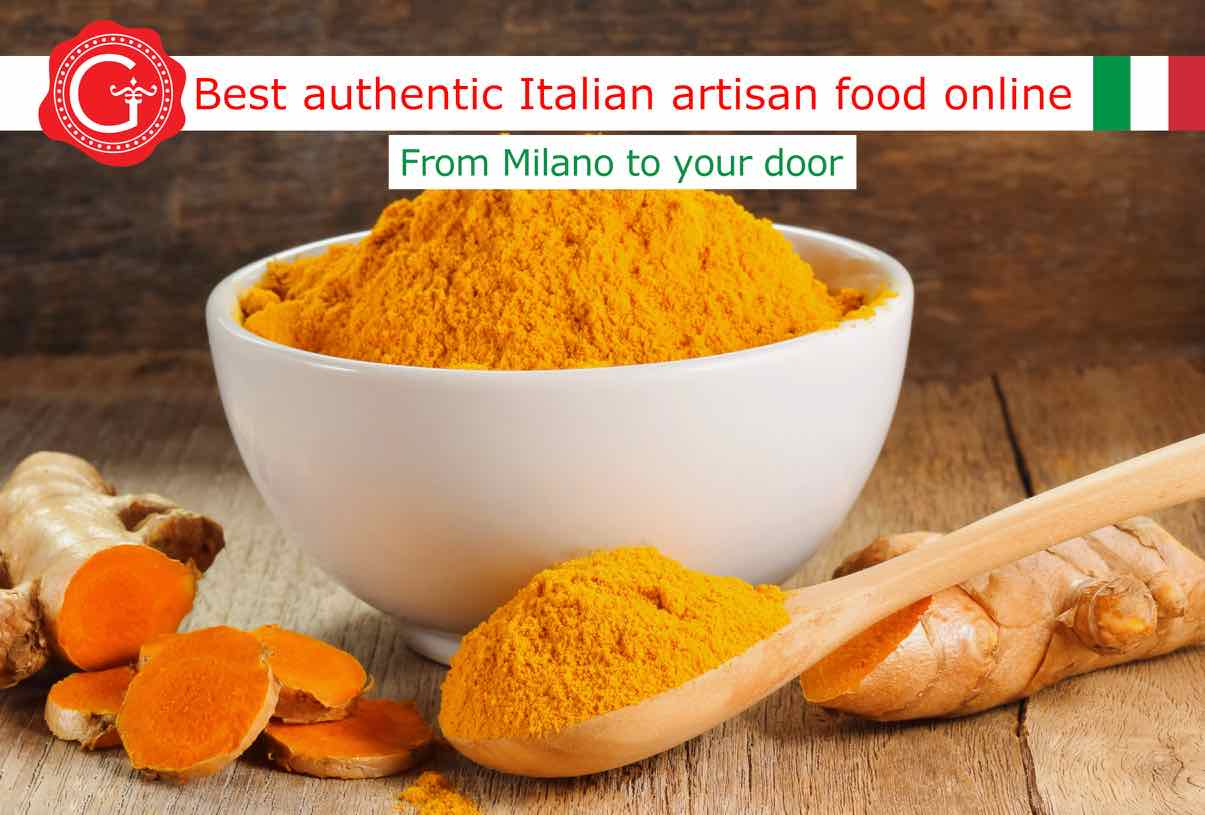 health benefits of turmeric - Gustorotondo online food shop - authentic Italian artisan food online