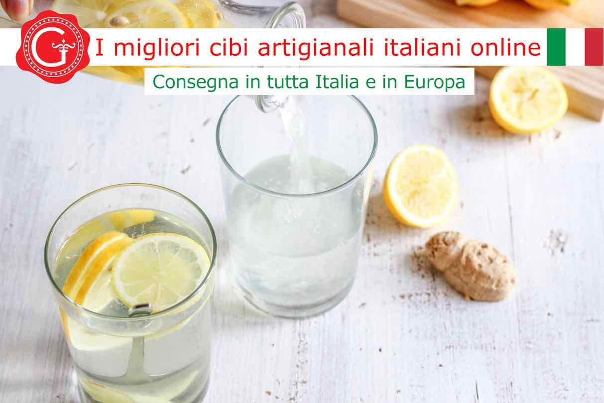 tisana zenzero e limone - Gustorotondo online shop - i migliori cibi online - vendita online dei migliori cibi italiani artigianali