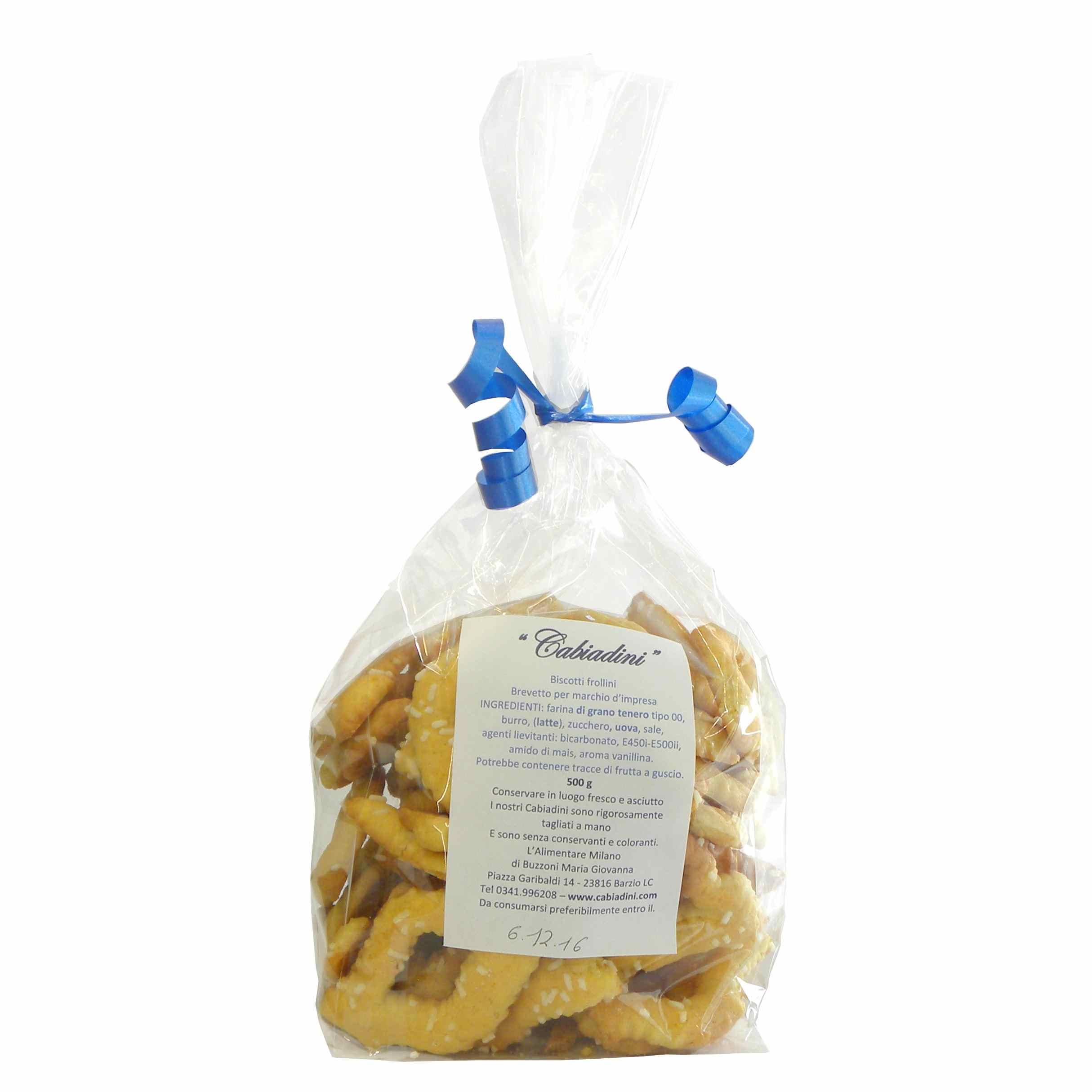 Cabiadini cookies – Italian biscuits – best Italian food – Gustorotondo online food shop – authentic Italian artisan food online
