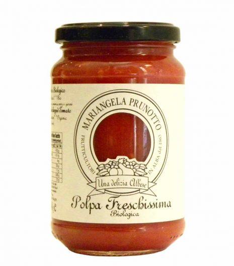 polpa di pomodoro freschissima Mariangela Prunotto - Gustorotondo online shop - i migliori cibi online - vendita online dei migliori cibi italiani artigianali