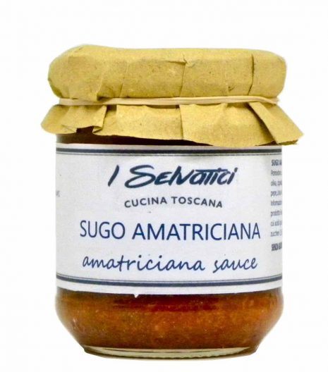 amatriciana sauce - best Italian food - Gustorotondo online food shop - authentic Italian artisan food online