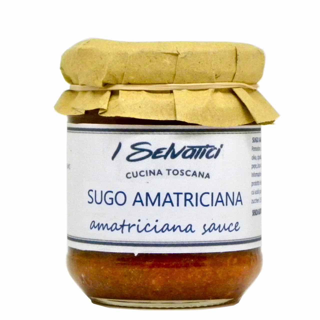 amatriciana sauce – best Italian food – Gustorotondo online food shop – authentic Italian artisan food online
