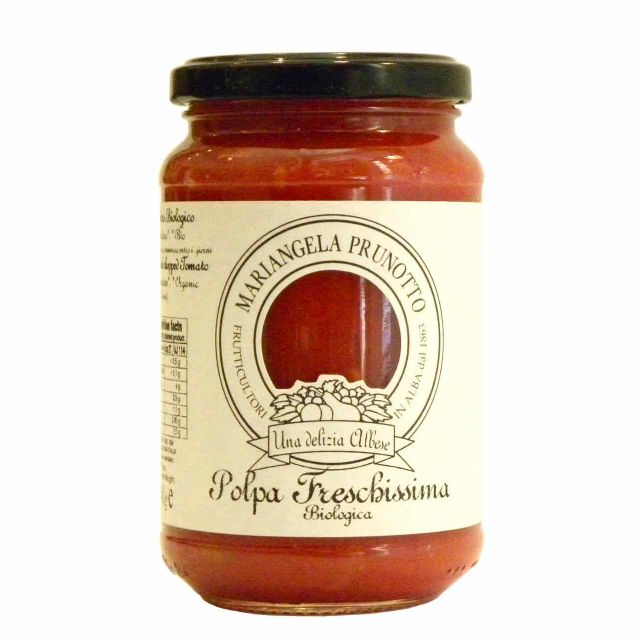 finely chopped tomatoes – best Italian food – Gustorotondo online food shop – authentic Italian artisan food online