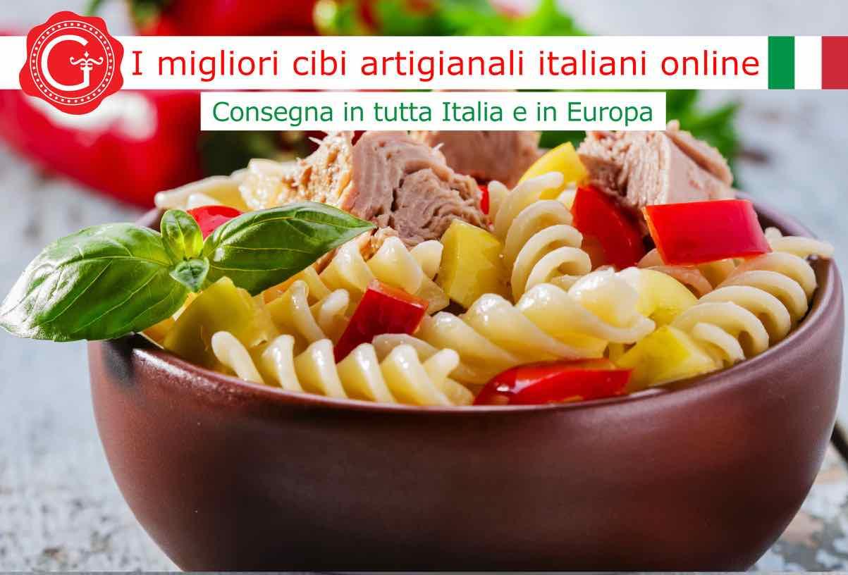 insalata di pasta fredda - Gustorotondo online shop - i migliori cibi online - vendita online dei migliori cibi italiani artigianali