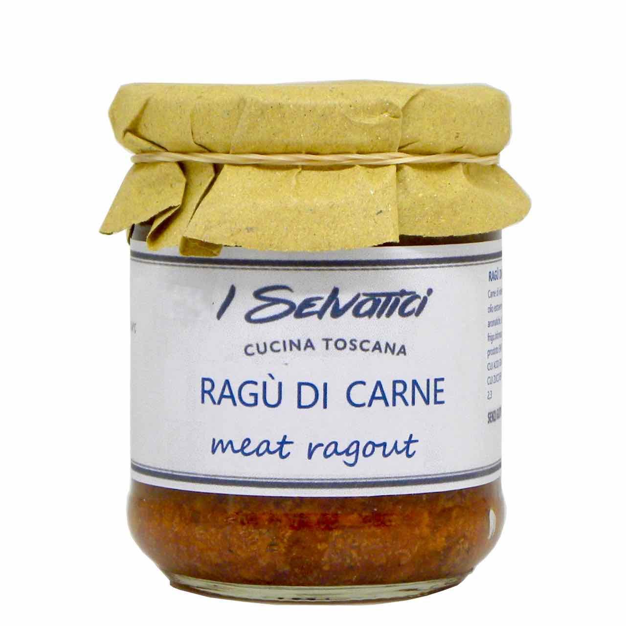 meat ragu – best Italian food – Gustorotondo online food shop – authentic Italian artisan food online