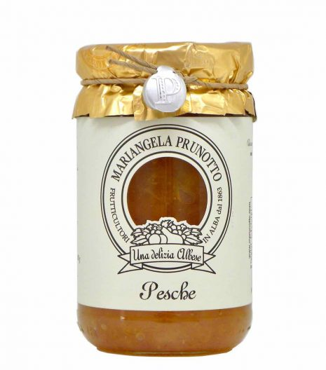peach preserve with cane sugar - best Italian food - Gustorotondo online food shop - authentic Italian artisan food online