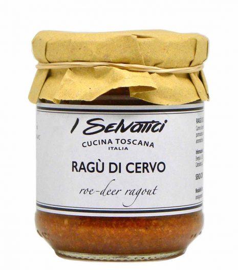 ragù di cervo - I Selvatici - Gustorotondo online shop - i migliori cibi online - vendita online dei migliori cibi italiani artigianali