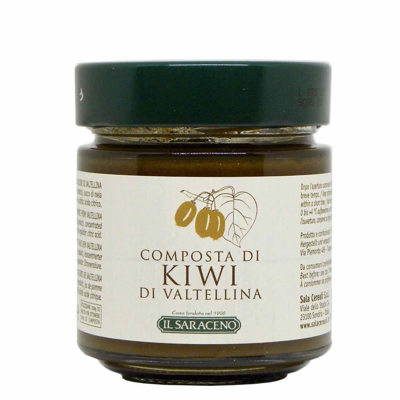 composta di kiwi Sala Cereali – spesa online-  Gustorotondo online shop – i migliori cibi online – vendita online dei migliori cibi italiani artigianali