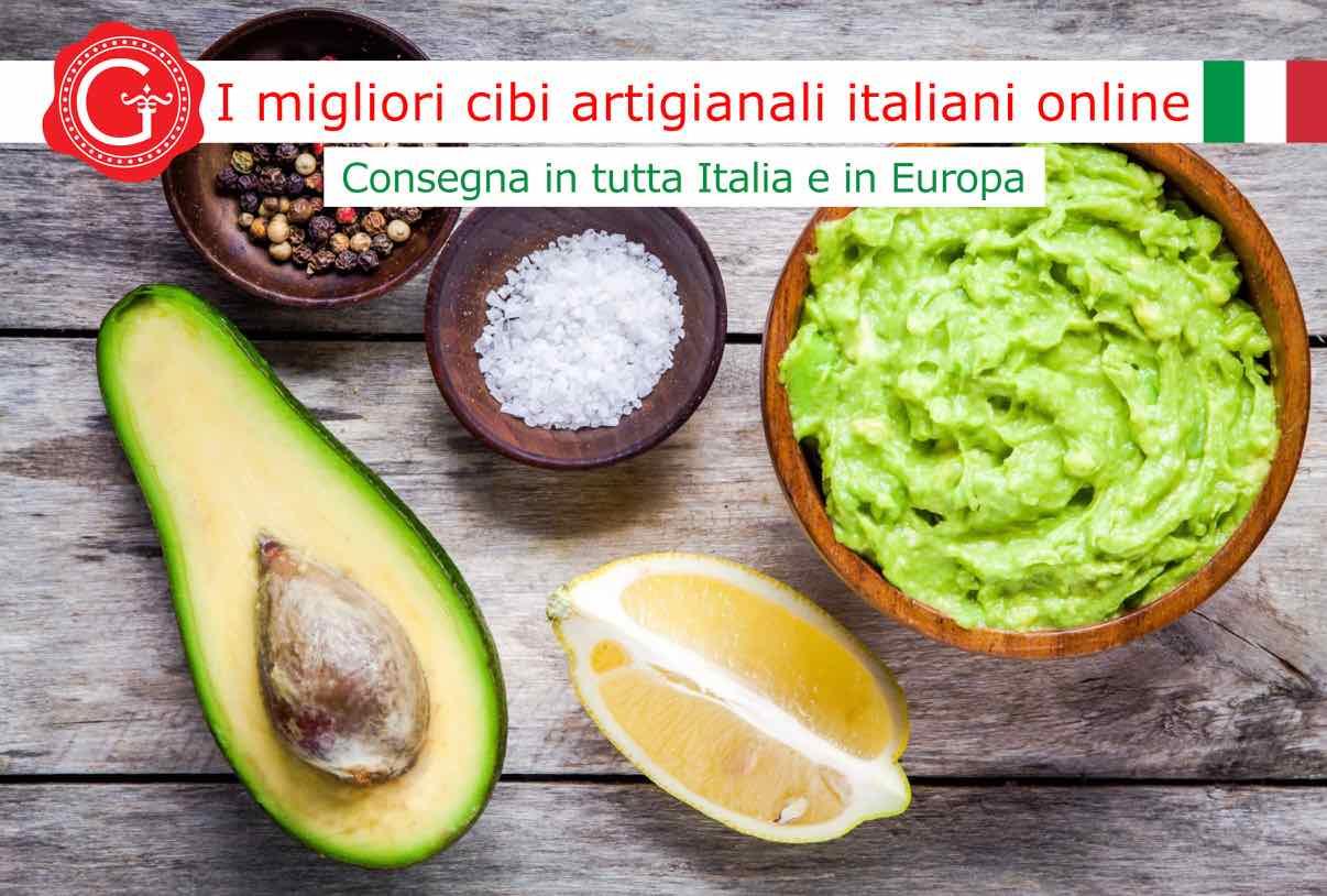 Guacamole ricetta - Gustorotondo online shop - i migliori cibi online - vendita online dei migliori cibi italiani artigianali